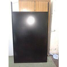 Стойка для демонстрации перфорированная 5/0026, двухсторонняя, черная, 54*31*180см