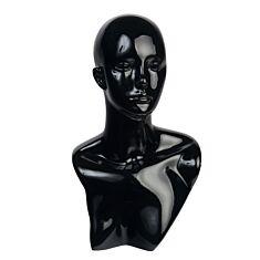 """Манекен """"Голова"""" , 47 см, черный. 5/0060/030"""